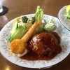 Rampu - 料理写真:デミソースハンバーグ