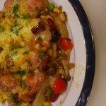 エトワールキッチン - 鶏モモ肉のチーズ焼き。(3000円3500円コースのメインです。)