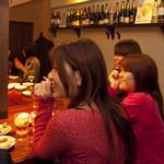 MUBU - 女性にも大人気のカウンター席