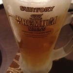炭火焼鶏おとなり - 生ビール