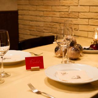★☆ 季節食材のコース料理とワインのマリアージュコース ☆★