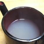 牛久藩一万十七石 - 蕎麦湯