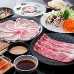 シャブリーゼ - 全6品の花コース、特選国産黒毛和牛と銘柄豚の両方が味わえる当店のべーシックプラン!