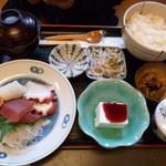 しまざき - 刺身定食 997円