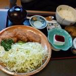 しまざき - ひれかつ定食 997円
