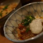 煮込みと惣菜 かん乃 - 角煮と炊き込み