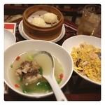 中華料理 大福園 - テールスープ、海鮮炒飯、イカ焼売