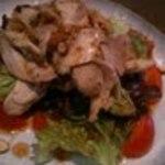 24168943 - フルーツトマトと阿波尾鶏のサラダ