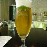 ビストロ キフキフ - ランチビール