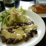 ビストロ キフキフ - 牛肩ロースのグリルステーキ