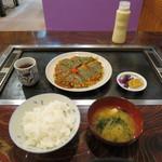 お好み焼 吉 - お好み焼定食 630円