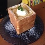 ジュニアペーパームーン - 料理写真:キャラメルハニートースト