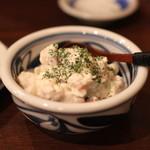 讃岐うどん 蔵之介 - ブルーチーズ ポテトサラダ (2014/02)
