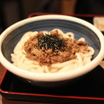 讃岐うどん 蔵之介 - 肉おろしぶっかけ (2014/02)
