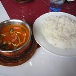 24172210 - 豆とひき肉のカレー&ライス☆