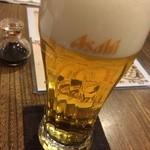 味のそば兵衛 - ビール
