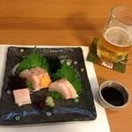 旬彩厨房 たかくら - サワラの刺身