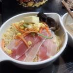 道とん堀 - チーズ味噌豚骨焼きラーメン