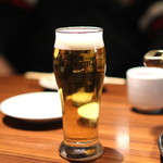 月島 在市 - 生ビール のあとは、神亀 ひこ孫 2006年 純米吟醸