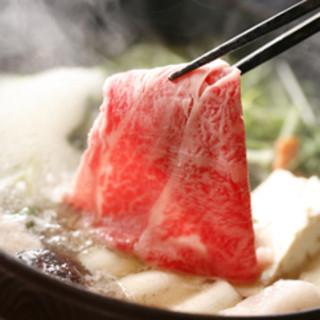 米沢牛を使用した焼肉・しゃぶしゃぶ・すき焼きを楽しめる当店!