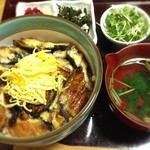 鰻はし本 - まぶし丼☻                             @¥1,100