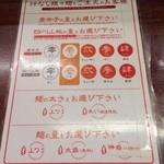 24176302 - 汁なし坦々麺の調節