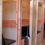 桜小町 - 区切られているので、個室感覚。
