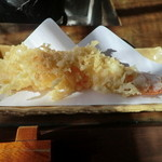 与衛門 - 海老の天ぷら