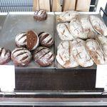 ポーズパン - 店内のパン(チョコラータ・チャバッタ)