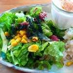 アーペ ワールド カフェ - たんと野菜を食べなくてはね!