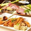 Kushidukushi - 料理写真:コースにて、季節の食材をお楽しみください。