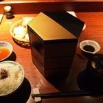 24180125 - 三段弁当ランチ(神路山弁当)