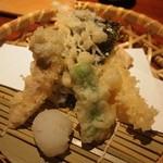 いせもん本店 - 三段弁当ランチ(神路山弁当) 天ぷら