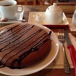 絵本カフェ holo holo - 2014年バレンタイン限定チョコパンケーキ