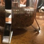 カフェドペリーヌ - 紅茶(茶葉の量が多い・・・)