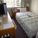 サウスブリーズホテル - 「B館 『旧館』 7F ゲストルーム シングル」 旧館だが、清掃が行き届いている為 快適至極!2014年2月