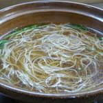 市松寿司 - ハリハリ鍋・なべ後の素麺