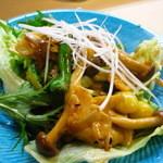 市松寿司 - ミル貝中華風炒め物