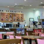 道の駅 鴨川オーシャンパーク - 食堂のような店内