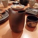 割烹 逆瀬川 川上 - 燗酒