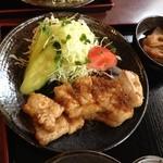 三福 - 生姜たっぷりでご飯が進む味つけです。