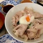 24184845 - 「豚しゃぶ丼」1.000円