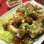 釜山 - 豚足