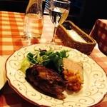24187308 - 三元豚スネ肉のローストとパテとラタトゥイユ
