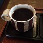 REAL DEAL - 器がオシャレなホットコーヒー(^o^)