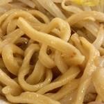 肉汁らーめん 公 - 自家製麺の麺