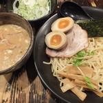 24191427 - みそだれつけ麺(トッピング:ねぎ)