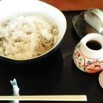 24191568 - おろし蕎麦と鯖寿司!