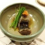 鮨処もとい - 鰹の腹身も炙り(旨い!)