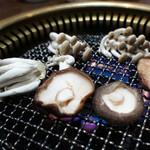 竹田屋 - きのこ焼き